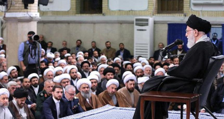 Iran under the rule of Ayatollah Ali Khamenei supports terrorism and exports violence
