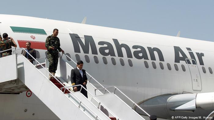 Mahan Air is working for Revolutionary Guard Corps and Quds Force