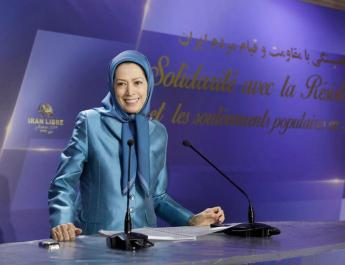 ifmat - Maryam Rajavi The world must listen to the cries of protesters in Iran