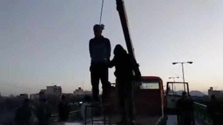 ifmat - Video of man publicly hanged in Iran
