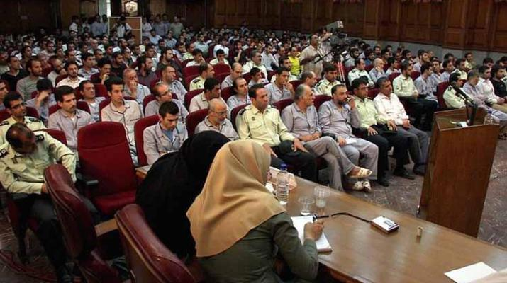 ifmat - Chief justice lies about no political prisoners in Iran