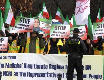 ifmat - Eu leaders must recognize the threat Iran regime poses