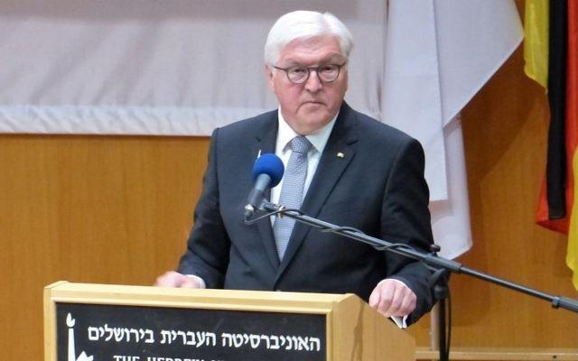 ifmat - German president under fire over Iran telegram