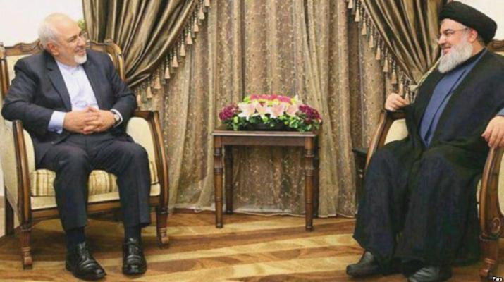 ifmat - Hezbollah leader pledges support to Iran regime in Lebanon