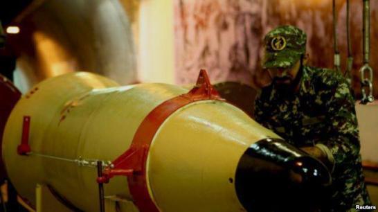 ifmat - IRGC Commanders reveal underground ballistic missile factory1