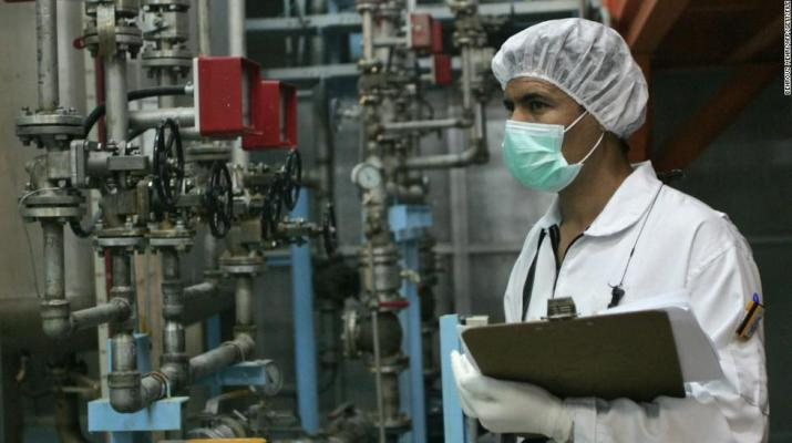 ifmat - Iran ramps up uranium enrichment that could be used for nuclear weapons