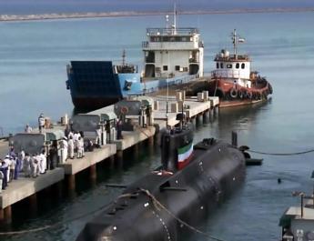 ifmat - Iran unveils Cruise Missile Capable submarine