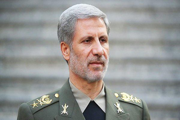 ifmat - Iranian Defense Minister said Regime gave a crushing response to US President