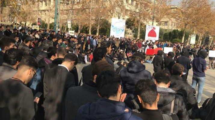 ifmat - Iranians continue their struggle for democracy