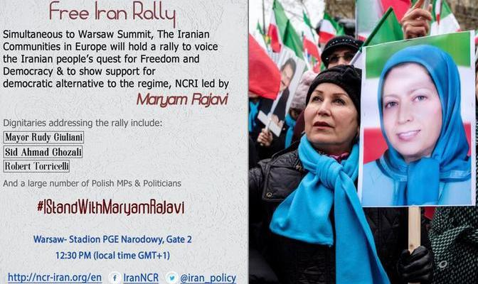 ifmat - Iranians to rally in support of resistance at Warsaw conference