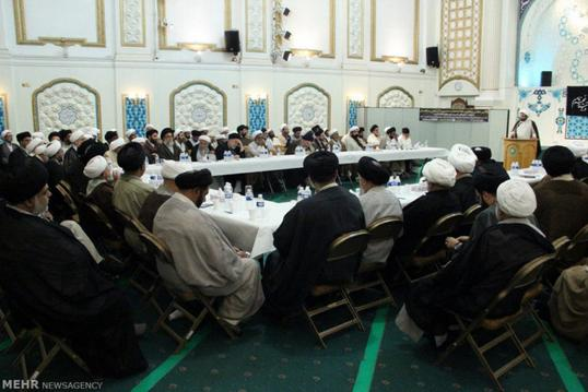 ifmat - Islamic Center in London hosts Imams and clerics