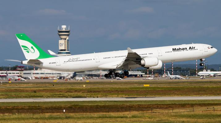 ifmat - Mahan Air baned in France for transporting military equipment and personnel to Syria