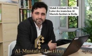 ifmat - Mehdi Esfahani, head of Al-Mustafa Institute in Berlin