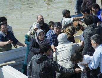 ifmat - Iran Regime suppressing flood victims rather than helping