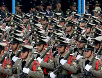 ifmat - Iran regime marks army day with large display of men and weapons