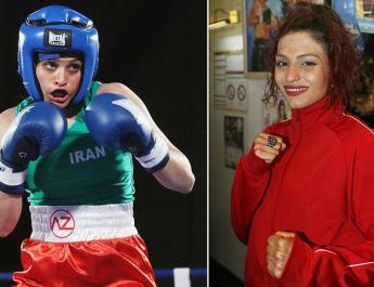 ifmat - Iranian female boxer shines light on rights issues in Iran