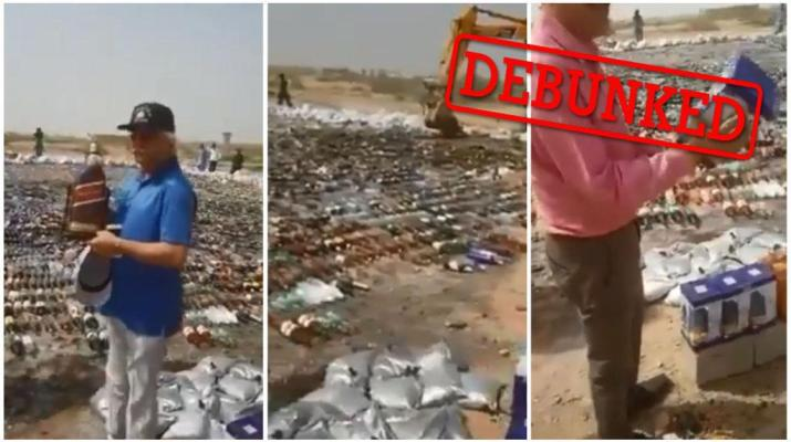 ifmat - Iran Regime police lies about destroying alcohol with videos from Pakistan
