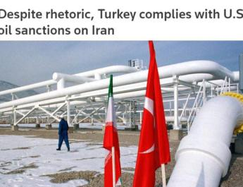 ifmat - Turkey complies with US sanctions on Iran Regime