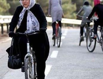 ifmat - Women cycling banned in Iranian city as haram