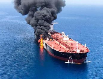 ifmat - Angela Merkel says Iran regime is behind attcks on gulf oil tankers