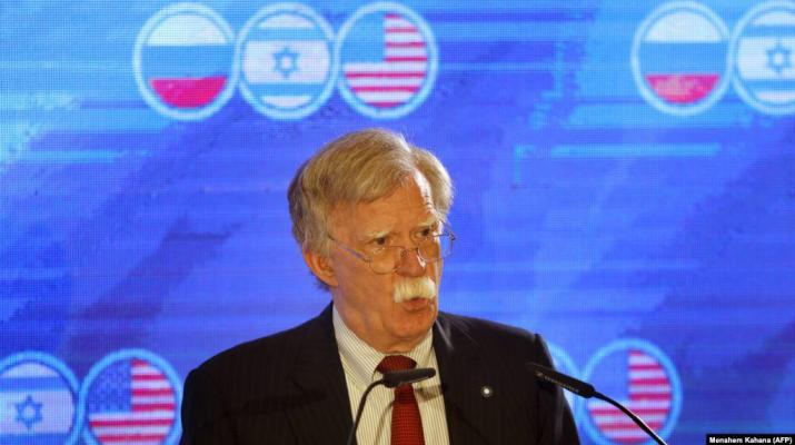 ifmat - Bolton warns Iran against disrupting Bahrain conference