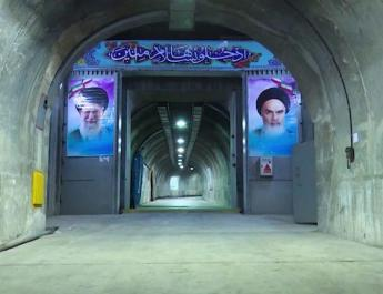 ifmat - Iran Regime shows bunker packed with weapons