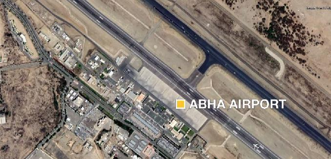 ifmat - Iran-backed Houthi rebels target Saudi civilian airport