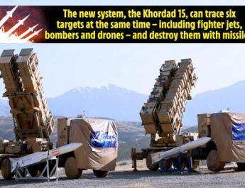 ifmat - Iran unveiled a new missile defence system
