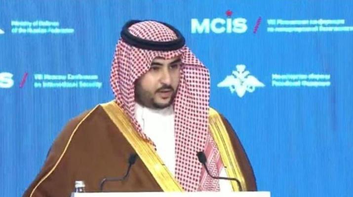 ifmat - Khalid bin Salman says Iran meddling in our region for 40 years