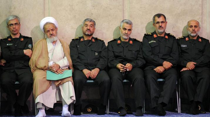 ifmat - Who are the 8 guards commanders sanctioned by US