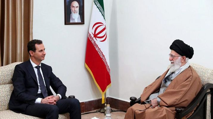 ifmat - Assad and Iran seek plan to deal about the Israeli presence in Syria