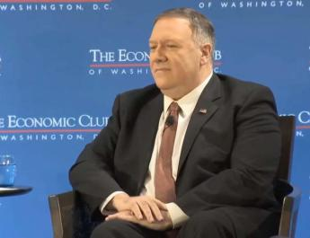 ifmat - Pompeo says US will keep safe Strait of Hormuz