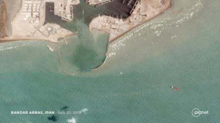 ifmat - Satellites images of spotted two seized tankers in Iran2