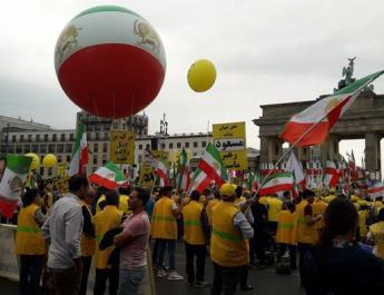 ifmat - Thousands in Berlin protest Iranian political repression