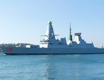 ifmat - UK warship placed on high alert after Iranian bomb boat is spotted in the region