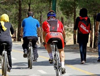 ifmat - 70 female cyclist arrested in Iran