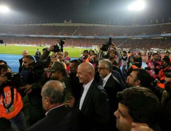ifmat - FIFA Demands Iran allow women into soccer stadiums