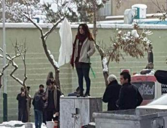 ifmat - Iranian women defy jail sentence by taking photos without headscarves
