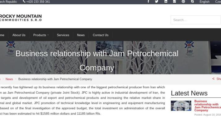 ifmat - RMC Jam Petrochemical Comapny