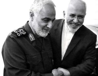 ifmat - Soleimani with provocations to US congratulates Zarif for sanctions
