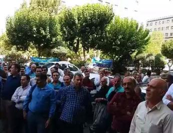 ifmat - Telecom employees from across Iran protest in Tehran