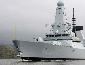 ifmat - UK warship engaged in war of warnings with Iranian forces in the Gulf