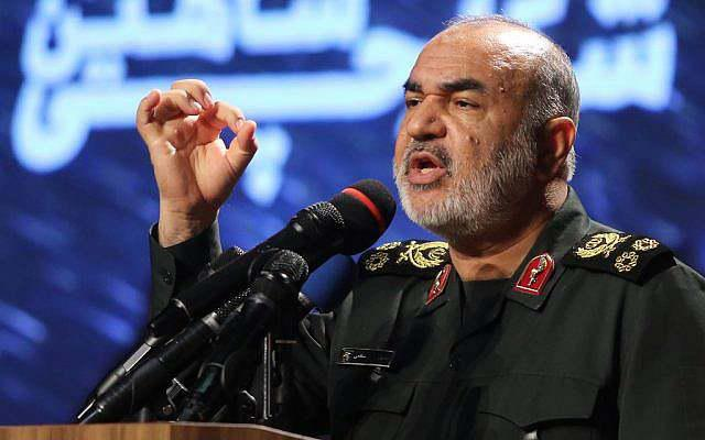 ifmat - Iran Guards chief says destroying Israel is achievable goal