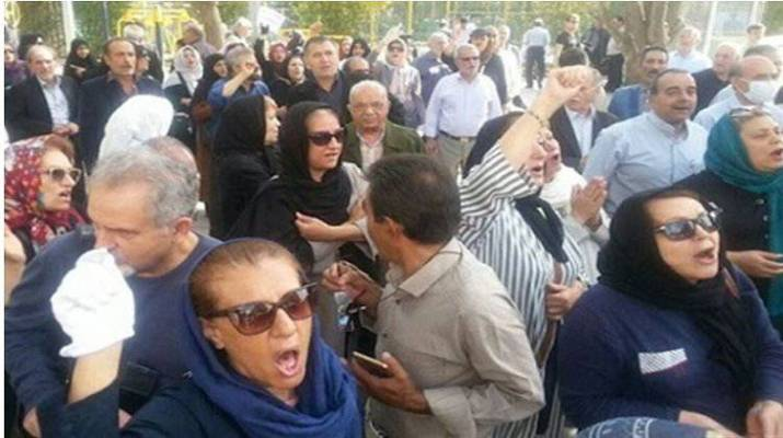 ifmat - Iranians continue to protest despite the violent crackdown by the Iranian authorities