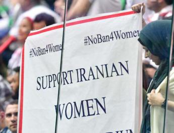 ifmat - Officials in Iran make contradictory remarks about female football fan