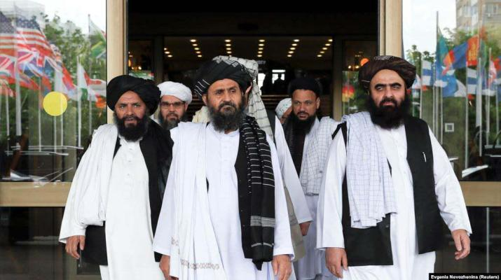 ifmat - Taliban delegation in Tehran after visit to Moscow