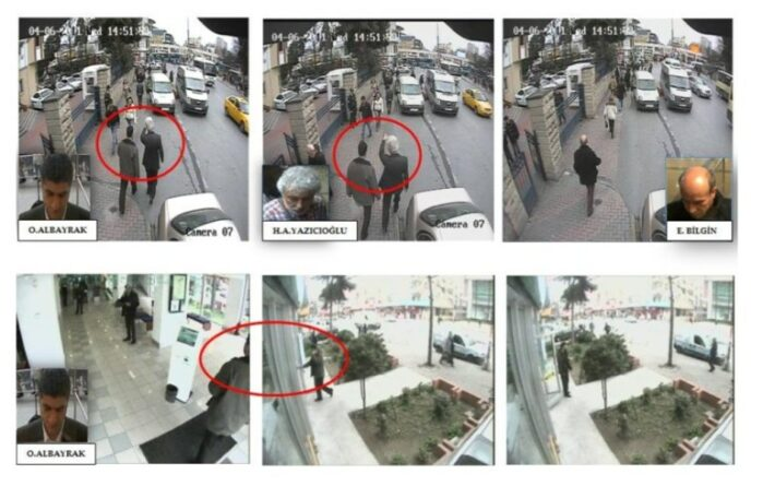 ifmat - The surveillance of IRGC operatives in Turkey