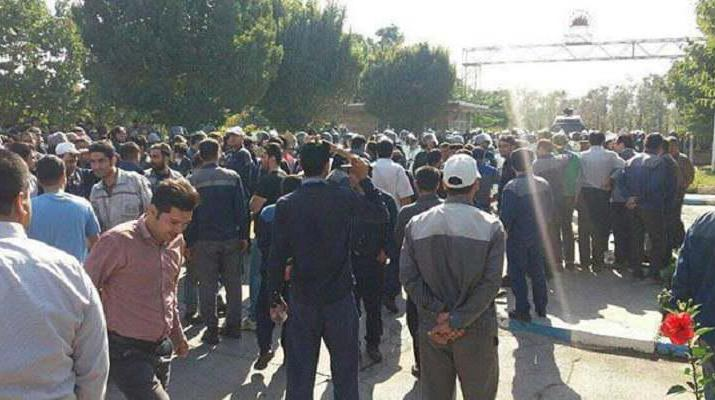 ifmat - Azarab workers continue protest in Iran