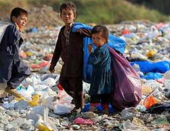ifmat - Children search trash to survive in Iran while regime sponsors terrorist