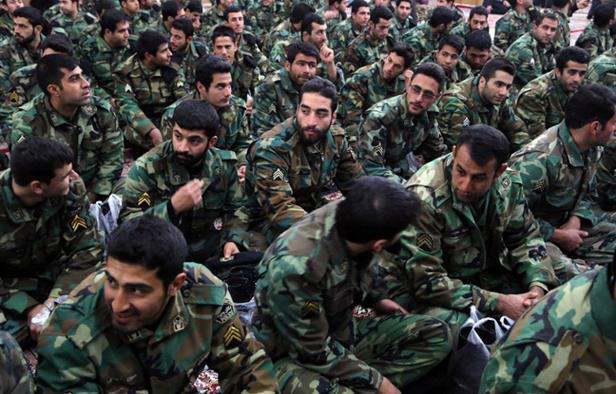 ifmat - IRGC forces begin war games in western Iran